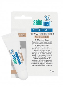 Sebamed Clearface Crema Correctora Color Piel